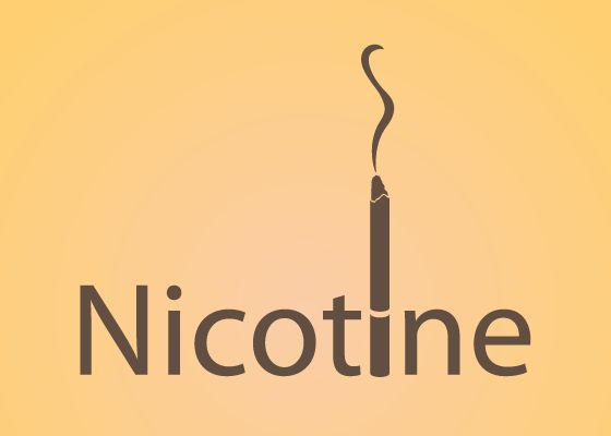 nicotine logo by seb dominguez