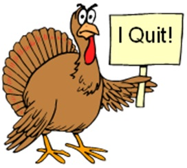I quit cold turkey cartoon
